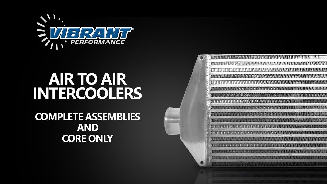 Vibrant Performance Air-to-Air Intercooler 12800