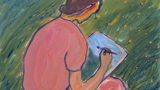 CHARLOTTE SALOMON (1917-1943)-ARTISTE PEINTRE-PAINTER-PINTORE-PART:2/4