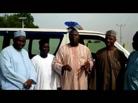 Brand New Ambulace That Hon. AISHATU BINANI Donated to LCCN YOLA