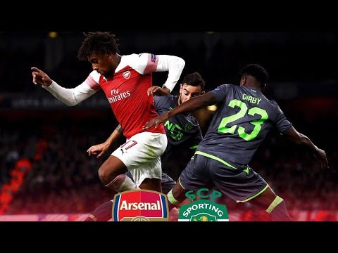 Arsenal vs sporting cp full highlights