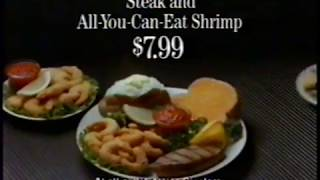 "1991 Sizzler Restaurant ""Motorcycle Sidecar TV Commercial"