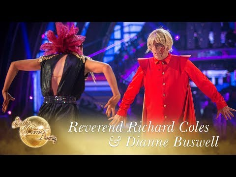 Reverend Richard Coles & Dianne Buswell Paso Doble to 'Flash's Theme' - Strictly Come Dancing 2017