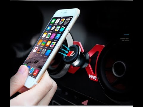360-Degree Car Air Outlet Mount Rotary Magnetic Holder for Audi A3 / S3 on TVC-Mall.com