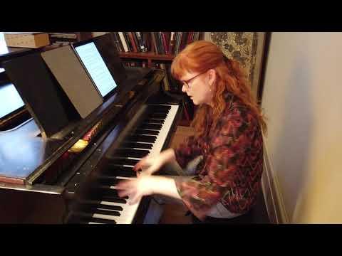 Gabriela Ortiz - Preludio y Estudio No. 3: Etude (Sarah Cahill, piano)