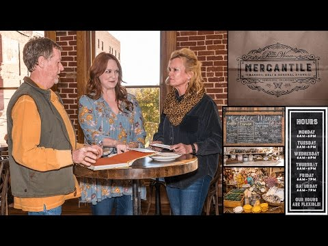 Tour of The Mercantile  Ree Drummond's Store, Bakery, and Restaurant in Pawhuska, Oklahoma