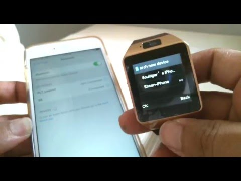 How To Pair Dz09 Smart Watch To Iphone 6 Plus