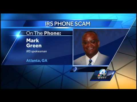 IRS warning taxpayers out a phone scam