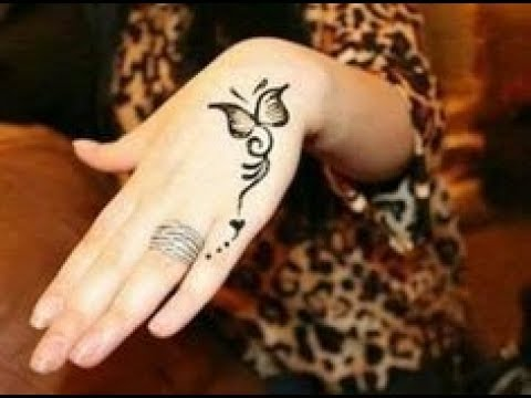 Cute And Easy Butterfly Mehndi Design Simple Butterfly Henna With