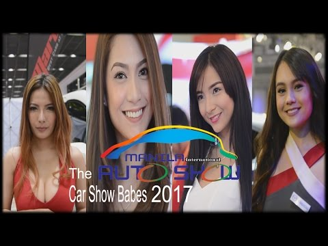 The Car Show Babes of MIAS 2017