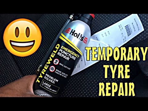 Holts Tyre Puncture Repair Review and Usage