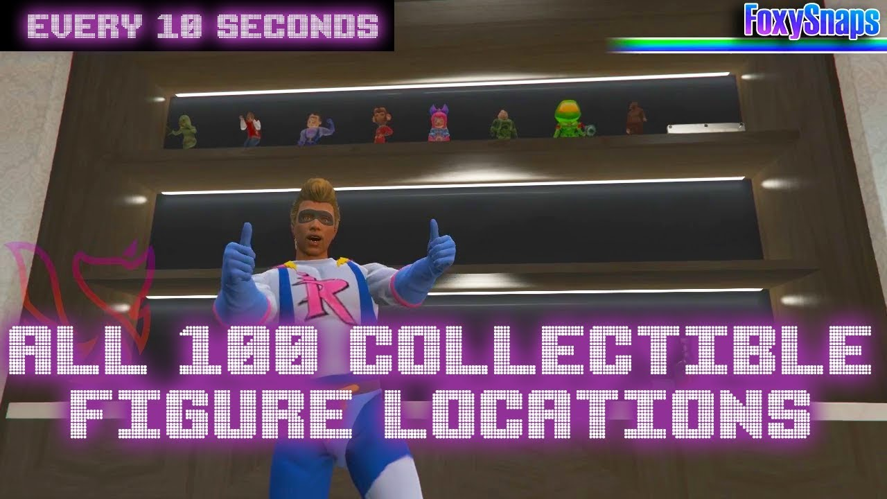GTA Action Figures locations: where to find all GTA Online