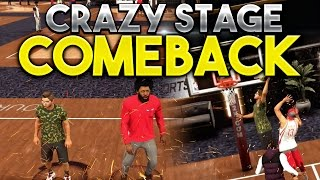 NBA 2K17 MyPARK: BEST COMEBACK EVER!!! 19-0 COMEBACK AT THE STAGE!!!