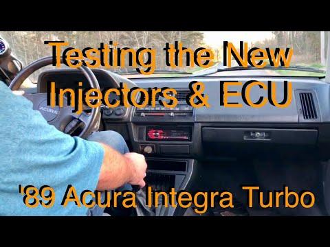 D16 Turbo - Testing the New Injectors and ECU - '89 Acura Integra Turbo