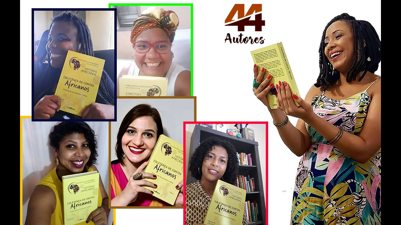 Lançamento: Coletânea de Contos Africanos - Vol. 1 - 44 Autores da I Turma CICHA