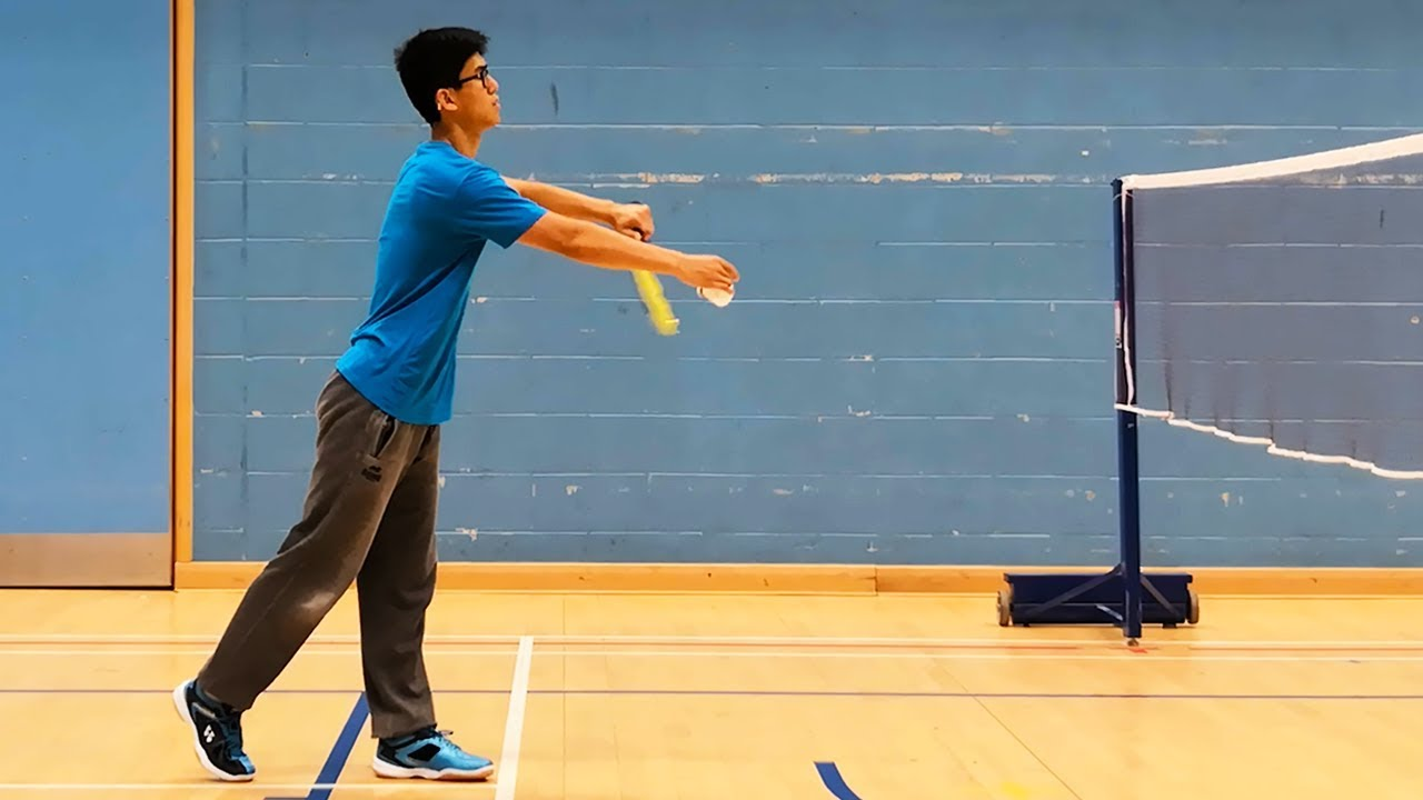 Perfect Badminton Low Serve Every Time Best Method Youtube