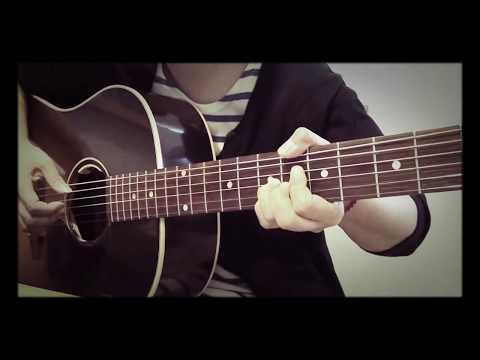 秦基博 トレモロ降る夜 cover カバー ギター弾き語り 練習♪