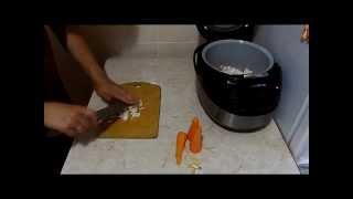 Плов из курицы в мультиварке (Вкус Няшкино)