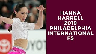 Hanna Harrell 2019 Philadelphia International FS