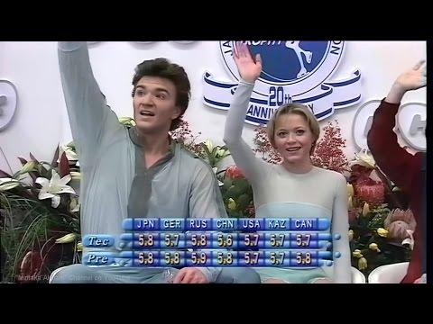 Elena Berezhnaya and Anton Sikharulidze - 1998 NHK Trophy FS  Елена Бережная, Антон Сихарулидзе