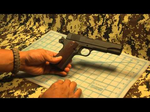 First Look of My Springfield Armory 1911-A1 GI 45 ACP (1080p HD)