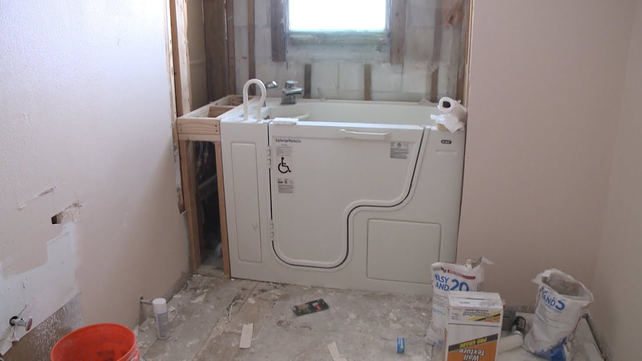 Bathroom Remodeling Youtube full bathroom remodeling with re-bath® - youtube