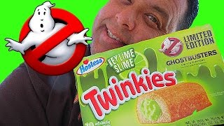 Ghostbusters™ Key Lime Slime Twinkies REVIEW!