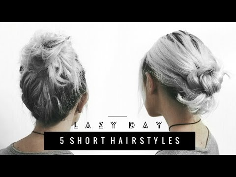 5 Heatless Hairstyles for Short Hair | Back to School
