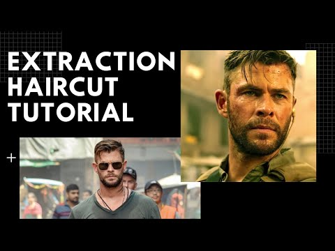 Chris Hemsworth Extraction Haircut Tutorial Thesalonguy Youtube