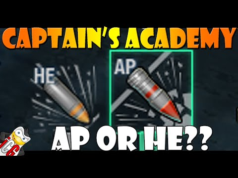 World of Warships - Captain's Academy #30 - AP or HE