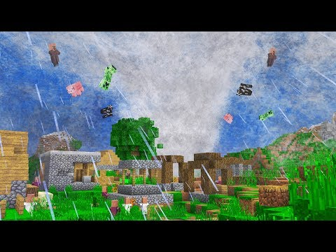 Minecraft EPIC TORNADOES, CYCLONES, HURRICANES & MORE!!