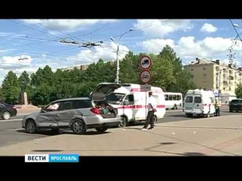 Две женщины чудом остались живы в ДТП в Рыбинске