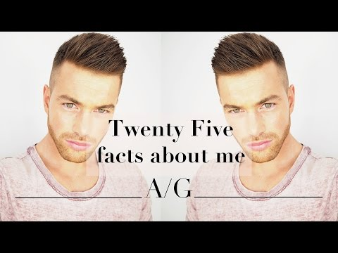 25 Facts about me | Ali Gordon