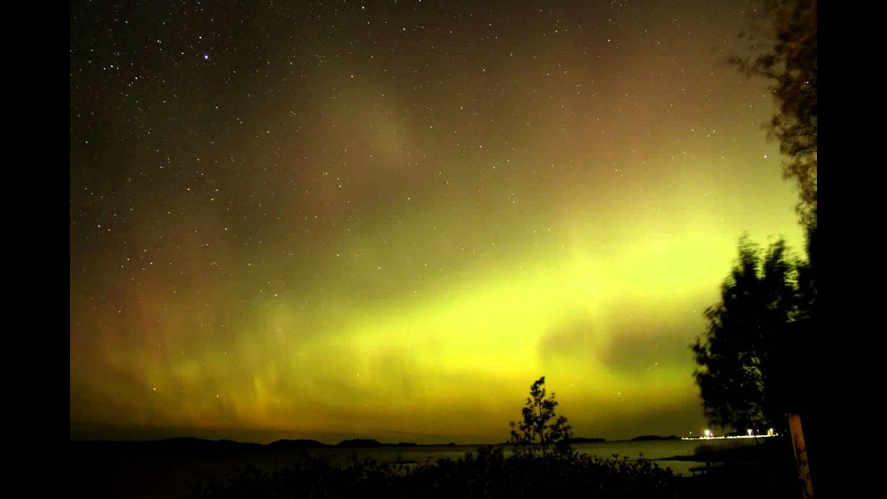 Yellow Northern Lights