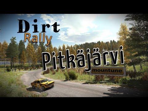 Défi Dirt Rally: Rally de Finlande étape Pitkäjärvi Chrono définitif sans PSVR