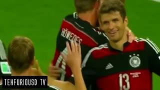 Video Brazil vs Germany 1 - 7 All Goals Highlights FIFA World Cup Semi Final 2014 HD download MP3, 3GP, MP4, WEBM, AVI, FLV Desember 2017