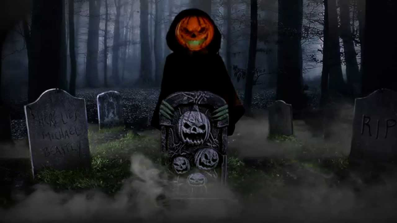 Pumpkin Guardian - Spirit Halloween - YouTube