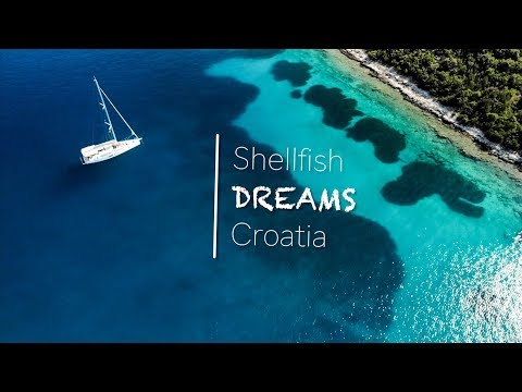 Sailing Croatia's Beautiful Dalmatian Coast with Shellfish Dreams