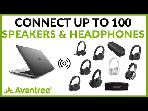 Connect up to 100 Headphones or Speakers Wirelessly (Simultaneously) - Avantree DG60