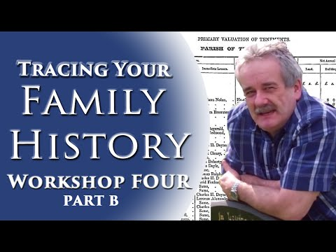 Family History Workshop 4b of 10