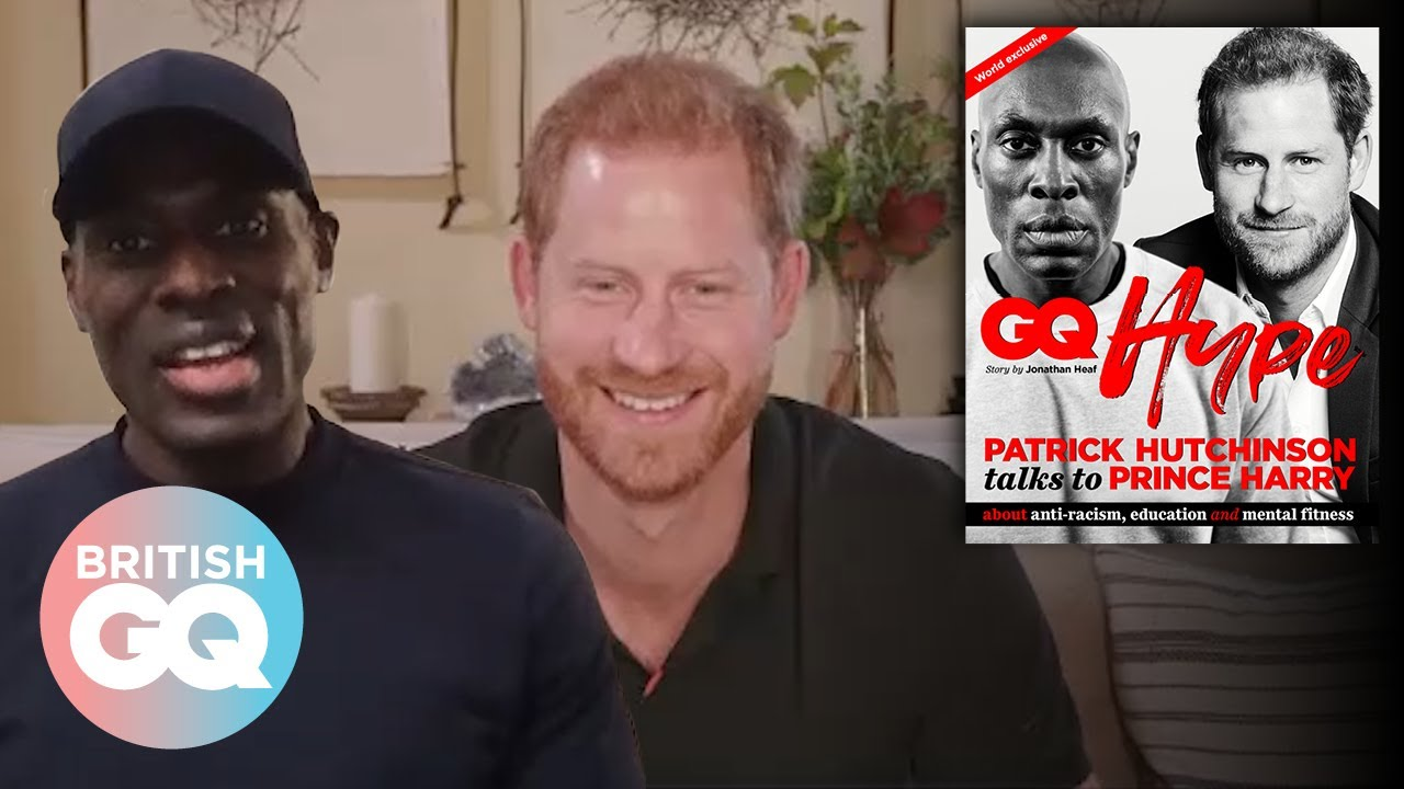Prince Harry and Patrick Hutchinson discuss how to further anti-racism | British GQ