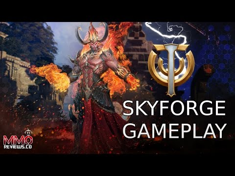 Skyforge Gameplay First Look   Free to Play Action MMORPG