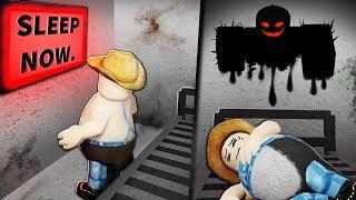 A disturbing Roblox hotel room...