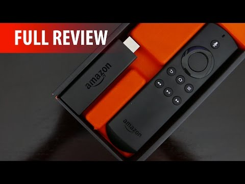 Amazon Fire TV Stick with Voice Remote (2015) - Full Review! (Kodi, Alexa, Gaming & More!)