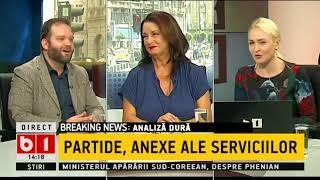 TALK B1- Analiză dură făcută de Mungiu Pippidi: Partidele, anexe ale serviciilor secrete
