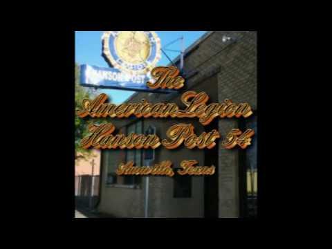 THE AMERICAN LEGION  HANSON POST 54 AMARILLO TX/ COMMERCIAL30sec# 1