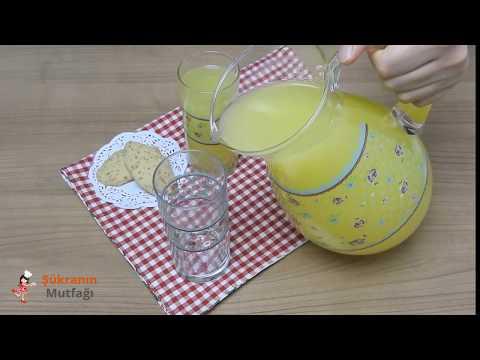 1 Portakal Ve 1 Limon İle Limonata Tarifi | Şükranın Mutfağı