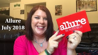 ALLURE//JULY 2018 //  UNBOXING// 8 PRODUCTS?!?!?