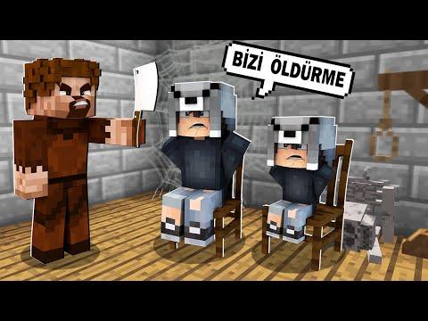 FAKİR AİLESİNİ KAÇIRDI ÖLDÜRDÜ! 😱 - Minecraft