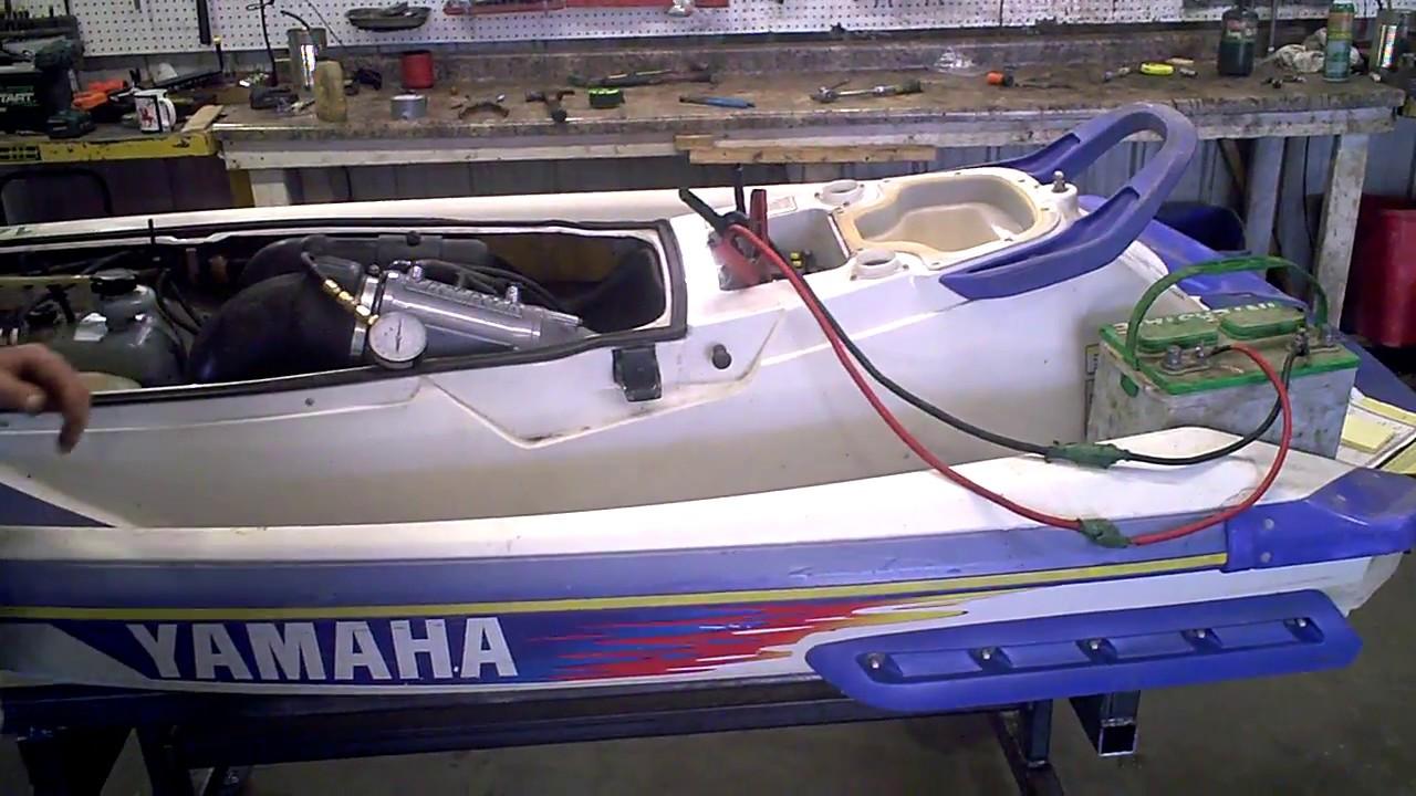 1995 Yamaha Waveraider 700 Waverunner Engine Compression Test LOT 1923A
