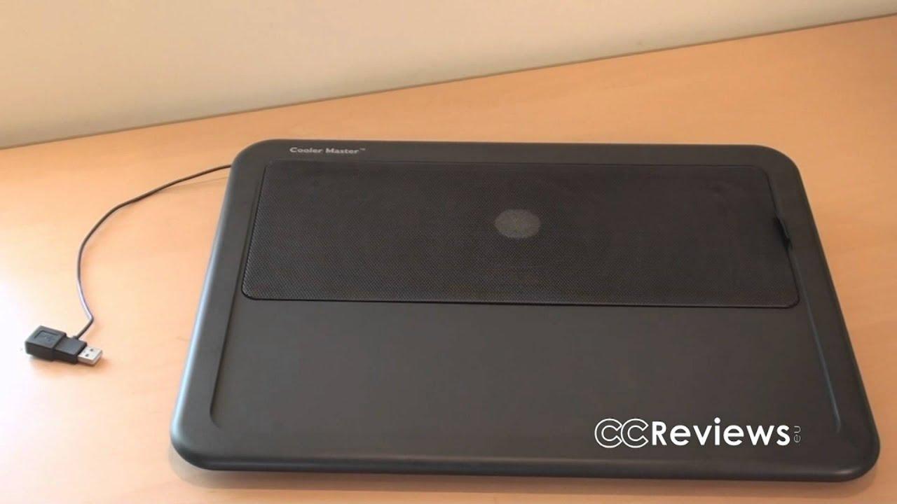 124e378c940 41: Cooler Master NotePal LapAir laptop cooler Review (CCReviews ...